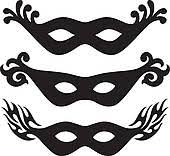 black and white mardi gras masks clip black and white mask clipart 1865201