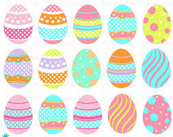 pastel easter eggs easter egg clipart trace clipartfest clipartbarn