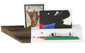 de bureau fragment de bureau desk organizer l 40 cm wood white by