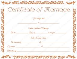 printable marriage certificate template dotxes