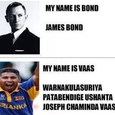 Meme Name - what are some good memes of the form the name s bond james bond