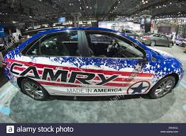 toyota cars usa new toyota camry cars on lot with protective film usa stock