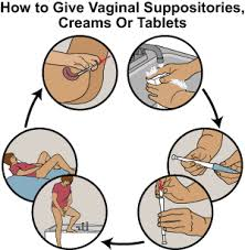 how to use vaginal suppositories creams or tablet medcircle
