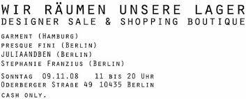 designer sale berlin fashioneble designer sale in berlin