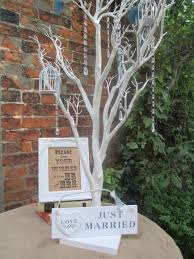 wedding wish trees wedding wishing tree bundle wish tree framed sign birdcage