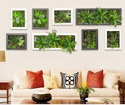 Plants Home Decor 3d Artificial Potted Plants Home Decoration Nature Wall Hanger