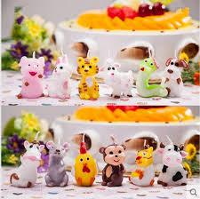 chinese zodiac cartoon creative children u0027s birthday cake smokeless