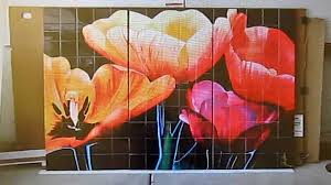wall decorating ideas tile art murals custom made for you youtube