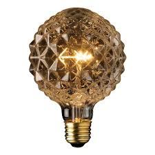 Globe Electric 40W Clear Designer Vintage Edison Crystalina