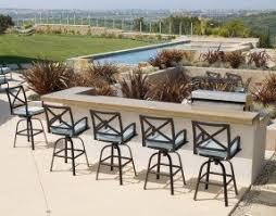 Aluminium Patio Sets Bar Set Outdoor Aluminum Patio Foter