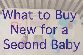 what to buy new for a second baby fish