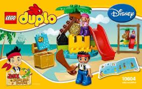 lego jake land pirates treasure instructions 10604