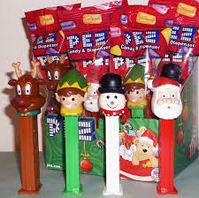 2014 christmas pez elf santa snowman u0026 reindeer mib 10 00