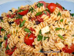 Homemade Pasta Salad by The Zebra Tomato Feta Pasta Salad Ina Garten