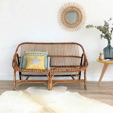 Rattan Two Seater Sofa Best 25 Rattan Sofa Ideas On Pinterest Rattan Furniture Wooden
