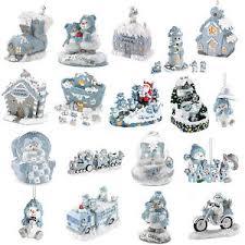 snowbuddies snowville snowman figurines building