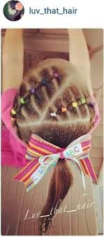 gymnastics picture hair style cute elastic style by luv that hair shopkin party ideas