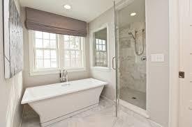 Roman Shades For Bathroom Gray Chenonceau Roman Shade Design Ideas