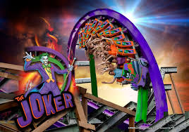 Six Flags Fright Fest California Thrilling New Hybrid Coaster The Joker Coming To Six Flags