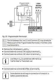 wiring a honeywell thermostat to a worcester boiler