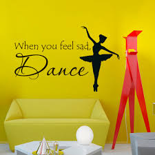 online get cheap wall decal dance with dancer aliexpress com