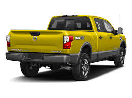 yellow nissan truck nissan titan xd pischke motors nissan