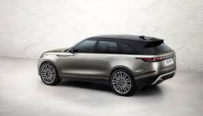 jeep range rover 2018 updated 2018 range rover velar completes four model lineup