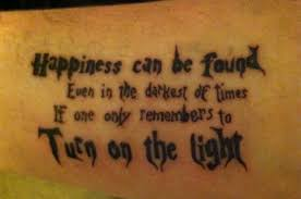 harry potter quote it tattoos