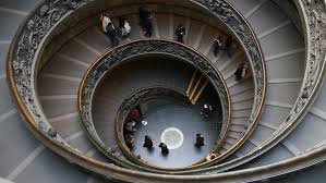 spiral staircase stock footage video shutterstock