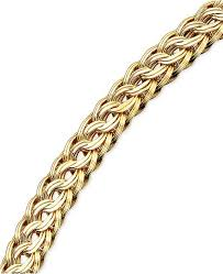 braided bracelet images Macy 39 s circle braided bracelet in 14k gold bracelets jewelry tif