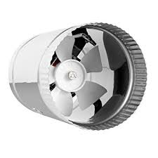 duct booster fan do they work amazon com terrabloom inline duct fan 100 cfm 4 inch hvac metal