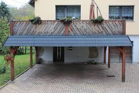 carport mit balkon referenzen handwerksmeister nico gahlert dachdecker und zimmerer