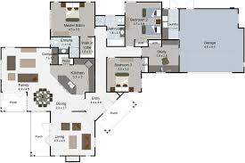 12 ranch house plans with basement 3 car garage nz wonderful 4
