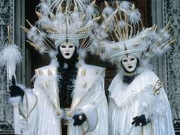 venetian costumes carnival costumes on sestiere venice italy puzzles