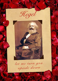 marx hegel upside down valentine card critical theory com critical theory valentine cards to rock your world