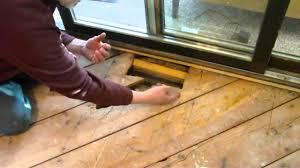 Repair Wood Floor Spongy Floor By Heat Vent Install Wood Floor Reveals Common