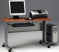 Computer Desk Mobile Lovable Movable Computer Desk Outstanding Movable Computer Desk