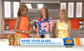Today Show by Youtube Star Mamrie Hart U201cmixes It Up U201d On U0027the Today Show U0027