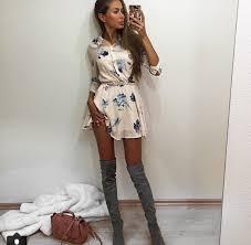 dress floral dress mini dress t shirt dress belt floral knee