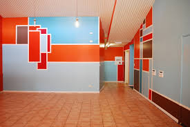 wall design ideas abstract full color home clipgoo office bathroom