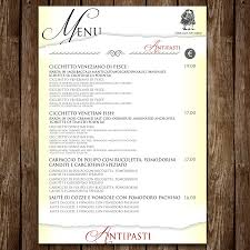 dining menu template entry 6 by luisegarcia for restaurant dining menu template