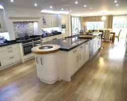 kitchen diner flooring ideas 25 best large open plan kitchens ideas on modern open