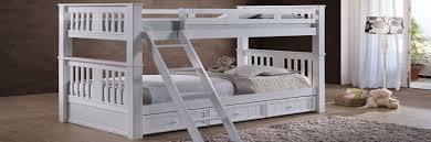 White Pine Bunk Beds White Wood Bunk Beds Just Affordable Metal For Sale 14