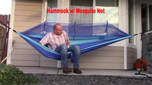 winner outfitters double camping hammock camping hammock with mosquito net youtube