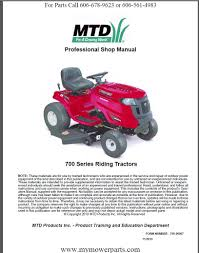 i have a new bolens 760 770 lawn tractor when the deck is