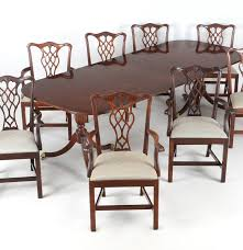 Craftsman Dining Table by Council Craftsman Dining Table And Eight Chairs Ebth