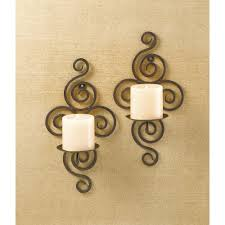 wrought iron candle wall sconces wholesale at koehler home decor