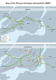 Montreal Metro Map Quebec Pensions Government Could Fund 5 5bn Montreal Rer Line