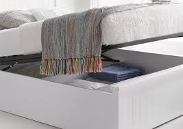 White Ottoman Bed New White Wooden Ottoman Storage Bed Ottoman Beds Beds