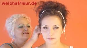Schnelle Hochsteckfrisurenen Kurze Haare by Hochsteckfrisur Für Kurze Und Mittellange Haare Anleitung